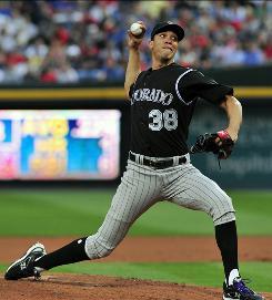 Rockies starter Ubaldo Jimenez shut down the Atlanta Braves lineup, completing the first no-hitter in Colorado history.