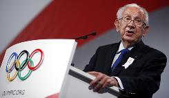 Juan Antonio Samaranch pushed for Madrid to host the 2016 Summer Games during an address in Copenhagen last October.