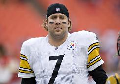 Steelers QB Ben Roethlisberger will miss at least four games to start the season while serving a suspension.