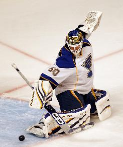 St. Louis Blues goalie Chris Mason could be an attractive option for an NHL team, but the market could be limited.