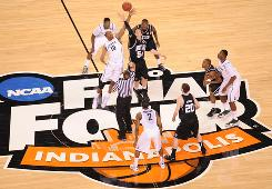 The NCAA announced Thursday a new 14-year agreement with CBS and Turner Broadcasting for rights to the men's basketball tournament, which will expand to 68 teams starting next season.