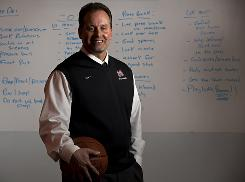 Mater Dei High School girls basketball coach Kevin Kiernan led his team to a 32-1 record and was named USA TODAY's All-USA coach of the year.