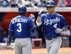 The Royals' Alex Gordon was the top college player in the nation in 2005, but he has yet to produce eye-popping numbers in the major leagues and was recently sent to the minors.