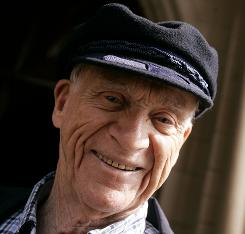 Detroit Tigers Hall of Fame broadcaster and legend Ernie Harwell, shown in this Aug. 2007 photo, died Tuesday at the age of 92 after a nearly one-year long battle with cancer.