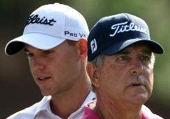 Jay Haas, right, and son Bill Haas will both be in the field this week at The Players Championship at TPC Sawgrass in Ponte Vedra Beach, Fla.