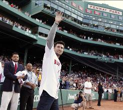 Nomar Garciaparra, 36, played nine seasons with the Red Sox, winning consecutive batting titles in 1999 and 2000.