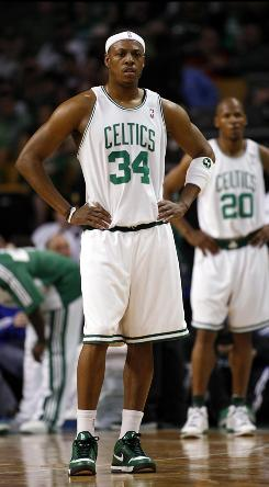 In Friday's 124-95 loss to the Cavaliers, Celtics forward Paul Pierce scored 11 points, his lowest output of the playoffs on 4-of-15 shooting, including 1-of-5 on three-pointers.