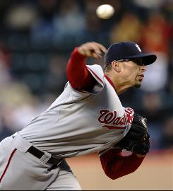 Rookie pitcher Luis Atilano threw 5 solid innings to help the Nationals beat the Mets.