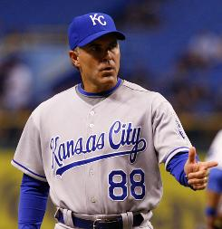 Kansas City is 55 games below .500 since Trey Hillman was hired after the 2007 season.