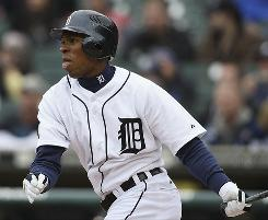Tigers outfielder Austin Jackson is one of several rookies making immediate impacts so far this season.