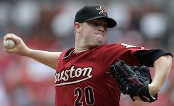 The Astros' Bud Norris allowed one run over eight innings and moved to 4-0 vs. the Cardinals.