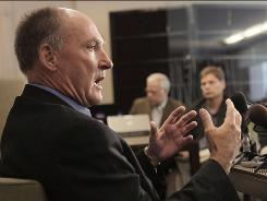 Big Ten commissioner Jim Delany, addressing the media during a news conference, said &quot;the shifting population is by itself reason enough to look at the concept of expansion.&quot;