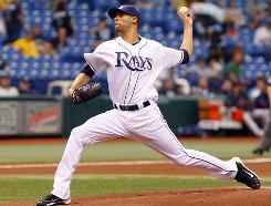 David Price started for the Rays and allowed one unearned run in six innings to move to 6-1 on the season while lowering his ERA to 1.81.