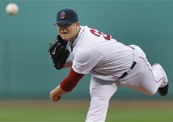 Boston Red Sox starter Jon Lester allowed one earned run in his fifth career complete game.