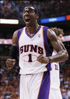 Amar'e Stoudemire says the Suns have to match the Lakers move for move.