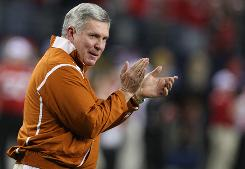 Coach Mack Brown and the University of Texas are keeping a close eye on expansion around NCAA and is keeping all options open.