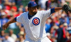Cubs starter Carlos Silva improved to 7-0 after striking out a career-high 11 batters in the 5-0 victory over the Cardinals on Saturday.