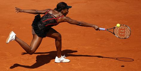 Venus Williams created a stir during the first week of the French Open with her lacy, corset-like tennis dress and skin-tone shorts that gave the illusion of nudity.