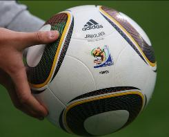 "Despite criticism from players, Adidas officials say the ""Jabulani"" balls that will be used at the 2010 World Cup are ""much more accurate."""