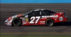 Baker-Curb Racing's No. 27 Ford, driven by Greg Biffle in the NASCAR Nationwide Series, will lose its sponsor, Red Man tobacco, when new FDA rules go into effect on June 22.