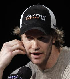 Pronger, a media darling, is honest and doesn't spout cliches during his news conferences.