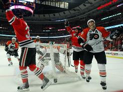 Flyers Defenseman Pronger On Ice For Six Of Blackhawks' Game 5 Goals