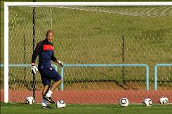USA goalkeeper Tim Howard, 31, hopes to make the most of his first opportunity at the World Cup. Howard was a part of the 2006 squad, but failed to see any playing time in a reserve role.
