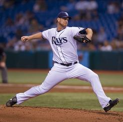 Rays pitcher Jeff Niemann pitched a shutout over the Blue Jays to remain unbeaten on the season.