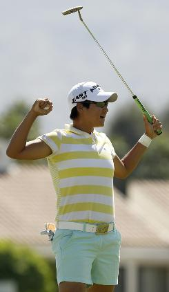 Yani Tseng of Taiwan, who won the Kraft Nabisco Championship in April, hopes to get some rhythm as the LPGA begins a five-week stretch of tournaments in the USA.