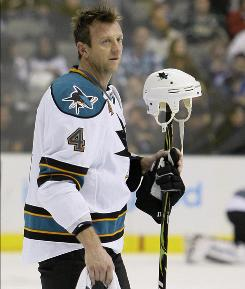 Rob Blake's career achievements include a Stanley Cup, Norris Trophy and an Olympic gold medal with Canada.