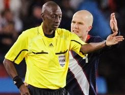 Referee Koman Coulibaly was heavily criticized by Team USA, including midfielder Michael Bradley, for his performance in the Americans' tie against Slovenia.