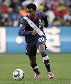 Forward Robbie Findley will not be available for the U.S. in their final Group C match against Algeria.
