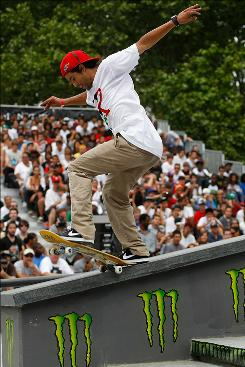 Paul Rodriguez, competing in the Maloof Money Cup on June 6, will be part of the field this weekend International Skateboarding Federation World Championship in Boston.