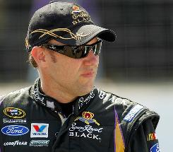 Matt Kenseth is in New Hampshire for Sunday's Sprint Cup Series race.