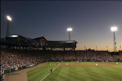 The College World Series will move from its 61-year home of Rosenblatt Stadium to the new TD Ameritrade Park next year in Omaha.