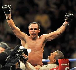 HBO proposed four junior welterweights to compete in a 140-pound tournament to determine a lineal champion. Mexican superstar Juan Manuel Marquez is one of them, along with Juan Diaz, England's Amir Khan, and Americans Tim Bradley and Devon Alexander.