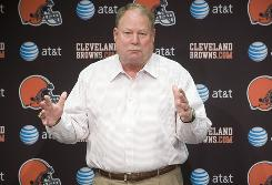 Mike Holmgren assumed the presidency of the Cleveland Browns after spending the 2009 season on the sidelines of the NFL.