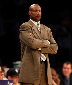Byron Scott patrols the New Orleans Hornets sideline last season. Next season, he'll be on the Cleveland Cavaliers bench.