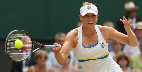 Vera Zvonareva will play in her first Grand Slam final on Saturday at Wimbledon's Centre Court, and standing in her way will be 12-time major champ Serena Williams.