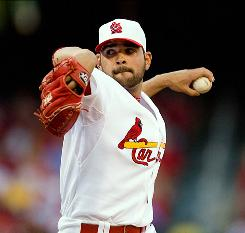 Cardinals starter Jaime Garcia allowed three hits and struck out seven in seven innings, blanking the Brewers to improve to 8-4.