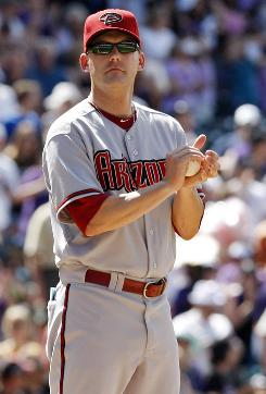 The Arizona Diamondbacks fired manager A.J. Hinch, above, and general manager Josh Byrnes.