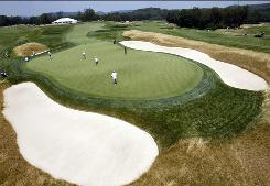 This week's U.S. Women's Open is being held at Oakmont Country Club, where players will be tested with thick rough and tricky elevation changes.