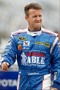 Richard Petty Motorsports driver A.J. Allmendinger has had run-ins with both Kasey Kahne and team co-owner Richard Petty this season.