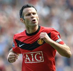 Midfielder Ryan Giggs and his Manchester United teammates will play four exhibitions on their tour of North America, starting with a game against Celtic F.C. in Toronto on Friday night.