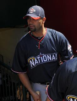 Cardinals' Albert Pujols has been selected to eight All-Star Games and lost everyone of them.