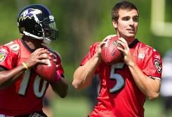 Joe Flacco has started every game for the Baltimore Ravens since they drafted him in 2008, and he has led the team to the playoffs the past two seasons.