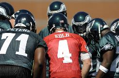 Kevin Kolb will take the reins of the Philadelphia Eagles offense for the first time this year.