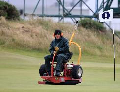 ESPN will add graphics for putts on the 2nd green at St. Andrews to help viewers analyze the action at the British Open. Shots on the 11th green will also be scrutinzed.