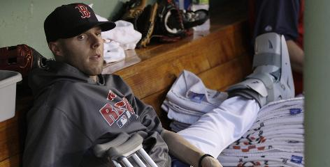 Dustin Pedroia's broken left foot could keep him out until August, heading the Red Sox's Who's Who of stars on the disabled list.