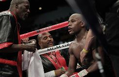 Floyd Mayweather Jr.'s camp has remained quiet during talk of a potential bout with Manny Pacquiao.